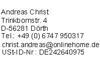 Impressum von Riester-Tarifvergleich.de